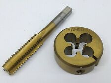 716 14 Nc Die Amp Tap Alloy Steel Hand Threading Tool 716 Nc 14 Lot Of 2