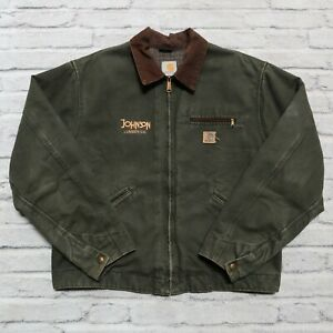 Vintage Carhartt Detroit Blanket Lined Work Jacket Size XL Wip Canvas