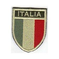 [Patch] SCUDETTO ITALIA softair bassa visibilità cm5x6,5 toppa termoadesiva -451