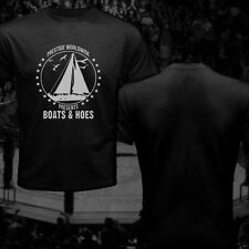 Prestige Worldwide Boats And Hoes Cool Swag Tee Shirt Step Brother Will Ferrell