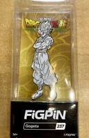 Gogeta Figpin (white & Gold) #237 Ready to ship Dragon Ball Super Broly Pin Nycc