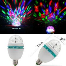 3W RGB LED Crystal Ball Light Disco KTV Bar Club Party Stage Rotation Lighting