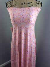 NWT LulaRoe Maxi Skirt Dress XS Pastel Pink Floral Mini Print Springtime