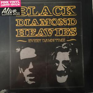 BLACK DIAMOND HEAVIES - EVERY DAMN TIME LP ALIVE RECORDS PINK VINYL TOM WAITS
