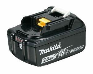 Makita Akku Pack BL1830B 18V 3,0Ah Li-ion Ersatzakku BL1830 Ladestandsanzeige