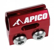 APICO BRAKE HOSE CLAMP YAMAHA YZ125 YZ250 YZF250 YZF450 09-ONWARDS RED