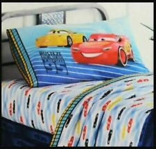 Disney 4 Piece Full Sheet Set Pixar Cars 3 Lightning McQueen Microfiber