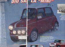 SP83 Clipping-Ritaglio 1997 Cooper Sports Pack Dio salvi la mini