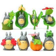 8 Pcs Miyazaki Hayao My Neighbor Totoro Pumpkin Figure Gardening USA Seller