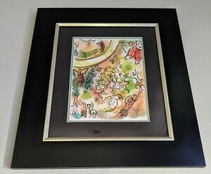 Marc Chagall Lithograph Hand signed 1972
