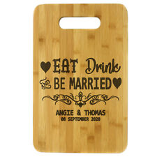 Chopping Board Personalised Wooden Cutting Chopping Kitchen Engraved Gift