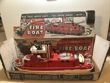 Ideal Fire boat with Working Siren and Complete Box. Working Condition👌