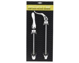 Forte Comp Quick Release Skewer Set (Silver) [50-2601-SIL-NON]