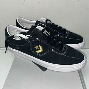 Converse Cons Louie Lopez Pro OX Men's Shoes Black and Gold 168668C Size 8 NEW