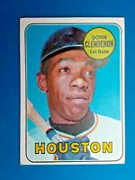 1969 Topps Donn Clendenon Houston Astros Baseball Card # 208