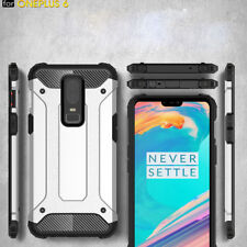Shockproof Armor Case Thin Hybrid Rubber Hard Shell Cover Skin For One Plus 6/5T
