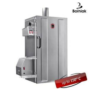 BBQ Smokehouse Electric Smoker for Food Meat Fish Veg Smoking Digital Temp BDS70