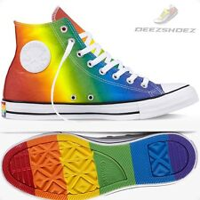 Converse Chuck Taylor Pride All Star Red Blue Green Unisex Men 10.5 Women 12.5