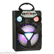 Redmaine  MS-216BT Bluetooth Speaker Big Drive Unit Bass Colorful Backlight FM