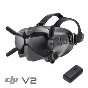 DJI HD FPV Goggles V2 for drone freestlye or racing - UK Stock
