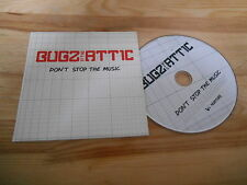 CD Indie Bugz In The Attic - Don't Stop The Music (1 Song) Promo V2 NURTURE cb