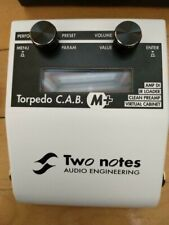 Two Notes Torpedo C.A.B M+ Guitar Preamp IR Loader DI
