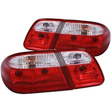 ANZO TAIL LIGHTS G2 RED/CLEAR (w/o LED) FOR 96-02 MERCEDES BENZ E CLASS W210