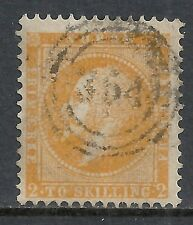 Norway stamps 1856 Yv 2 Canc Vf
