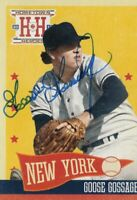 Goose Gossage New York Yankees Signed 2013 Panini Hometown Heroes Baseball Card