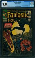 Fantastic Four #52 CGC 9.0 First Black Panther Nice Silver Age Key