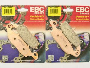 FRONT EBC HH SINTERED BRAKE PADS for Suzuki SV650 FA229HH FA231HH