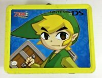 Nintendo Legend Of Zelda Phantom Hourglass Yellow Metal Lunch Box