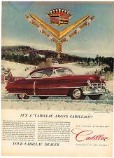 Vintage 1952 Magazine Ad Cadillac Standard Of The World And Vigoro Plant Food