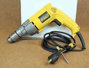 "Dewalt DW245 Corded Drill 7.8Amp Used 1/2"" Chuck Used"