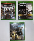 Xbox One Game Bundle (Assassin's Creed: Syndicate, Rainbow 6 Siege, Titanfall 2)