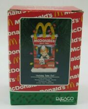 "Enesco Treasury McDonald's ""Holiday Take Out"" Ornament Dated 1991"