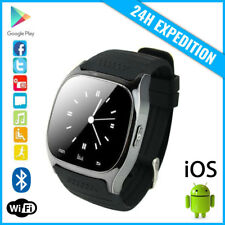 Original M26 Smart Watch Montre Facebook Bluetooth SIM Slot Android iOS Black