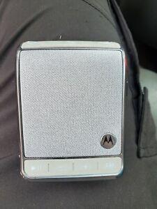Motorola Roadster 2 Wireless Hands Free Bluetooth Speaker Phone radio Unit tz710