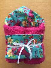 Trolls Poppy Hooded Towel & Wash Cloth Set