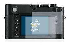Leica M Monochrom Camera,  6 x Transparent ULTRA Clear Camera Screen Protector