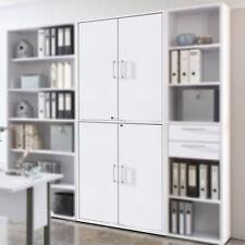 Schrank Calvia Aktenschrank Büroschrank in weiß Arbeitszimmer abschließbar