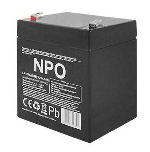 Rechargeable Gel Battery 12V 4.5 Ah AGM Lead Acid Maintenance Free Leakproof UK