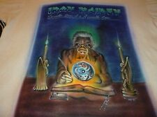 Iron Maiden Handmade Airbrushed Vintage Shirt ( Used Size L )  Nice Condition!!!