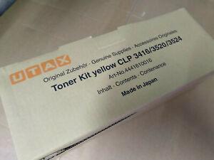UTAX Toner Yellow CLP 3416/3520/3524 Toner Kit 4441610014 Original Japan