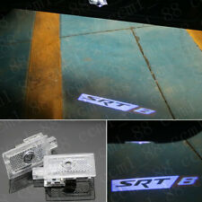 2x SRT8 Logo Led Light Car Door Emblem Projector Kit HD For Chrysler 300 2005-19