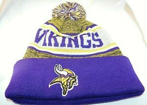 Minnesota Vikings Beenie Toboggan Skull Hat Cap Headgear NEW FOOTBALL KNIT