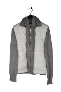 Original Dolce&Gabbana Men Hooded Jacket Zipped Vest With Sleeves size 48IT (M)