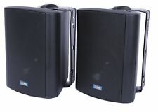 "TIC ASP60(Black) 80W 5"" Performance Patio Speakers w/ 70v Switch (pair)"
