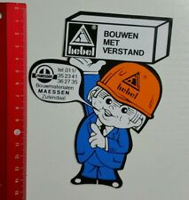 Aufkleber/Sticker: hebel Bouwen met Verstand (040516142)