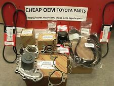 Genuine Toyota OE OEM V6 3.4L Timing Belt Water Pump complete Kit 1995-2004